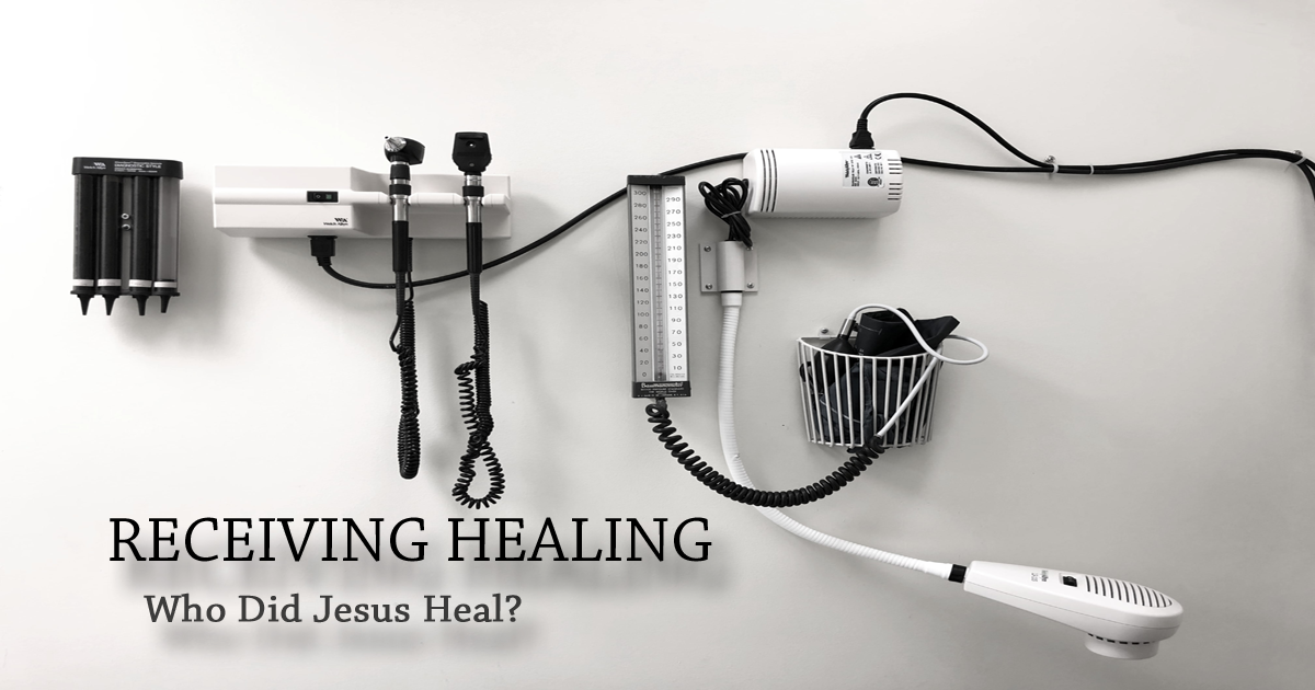 Who Did Jesus Heal